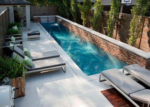 Diseño Moderno De La Piscina Retratos Remodelación Decoración E Ideas Página 68 Small Backyard Poolssmall Swimming