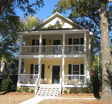 Plan 10039tt Stacked Porches In 3 Sizes Bath Porch And