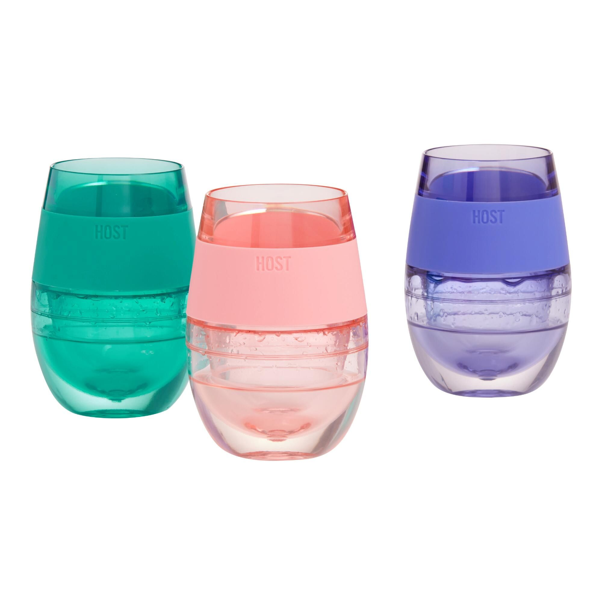 Host Wine Freeze Cooling Cup Purple By World Market Wine