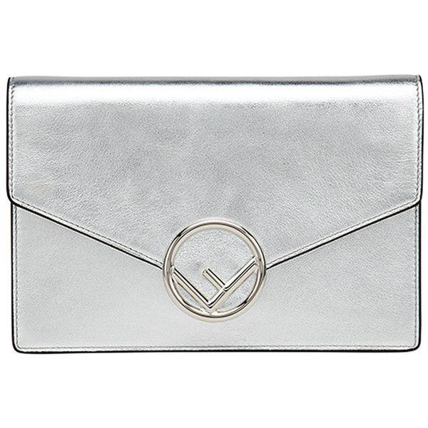 logo flap purse - Black Fendi QRruVEU0x