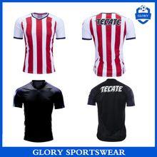 eb5ba87116e Top thailand quality Mexico 2017 2018 Chivas Guadalajara soccer jersey