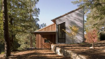 Russian River Studio In San Francisco By Cathy Schwabe Architecture Featuring Corrugated Metal Siding Corrugated Metal Siding House Exterior Metal Siding