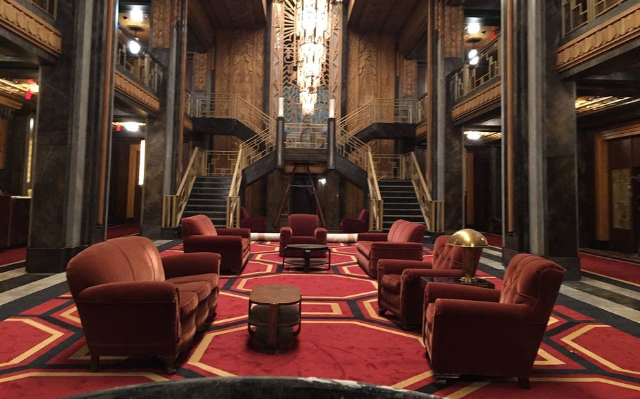 On The Set Of American Horror Story S Hotel Cortez Streamline