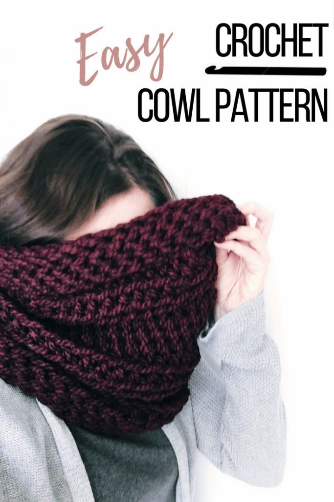 How To Make A Chunky Crochet Scarf That Will Lay Perfect Every Time
