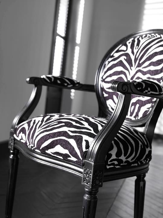 Sassy Addition To Any Roomlove Itethan Allenjust Add A New Zebra Dining Room Chairs Decorating Design