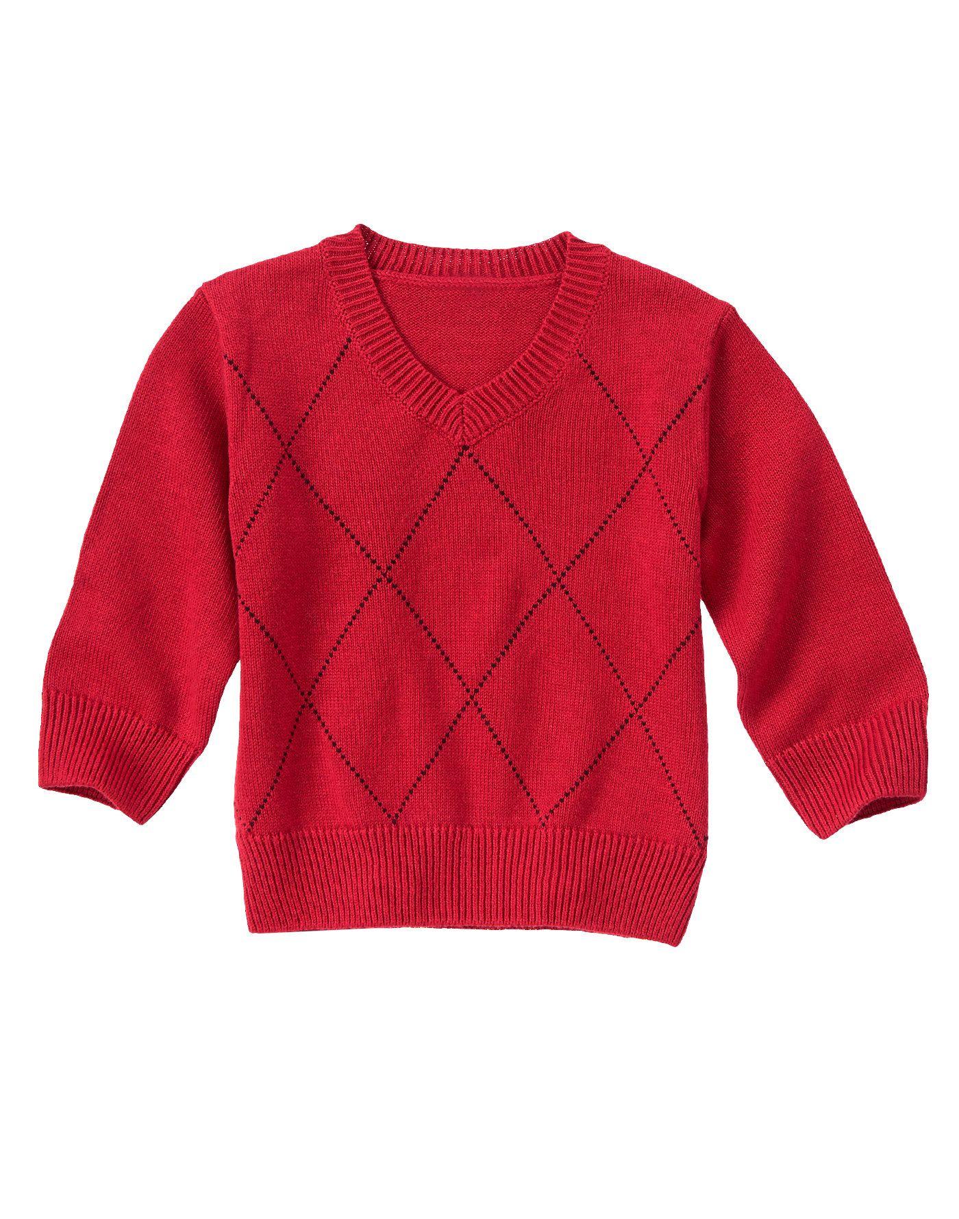 Windowpane Sweater at Gymboree