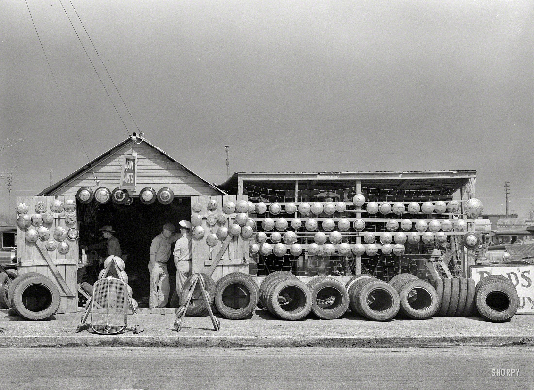 "Car Dealerships In Corpus Christi >> February 1939. ""Auto parts store in Corpus Christi, Texas ..."