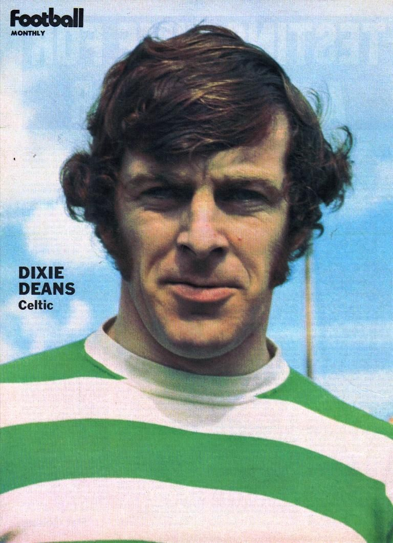 Dixie Deans 1972 CELTIC GLASGOW