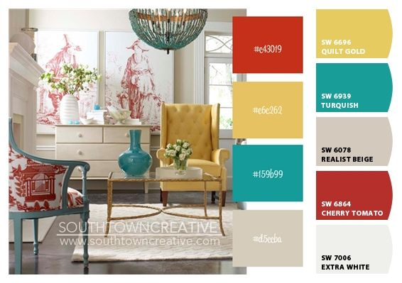 I Just Spotted The Perfect Colors Living Room Red Home Decor Teal Kitchen Decor