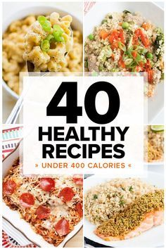 40 Healthy Dinners Under 400 Calories images