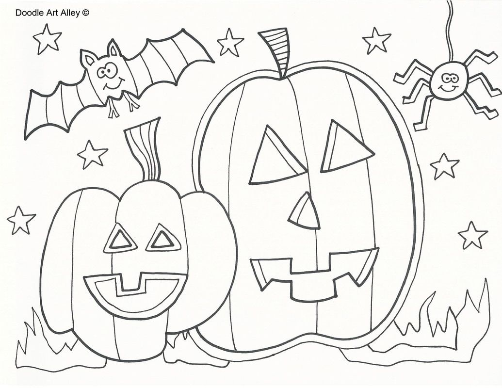 Picture kid coloring pages pinterest halloween coloring