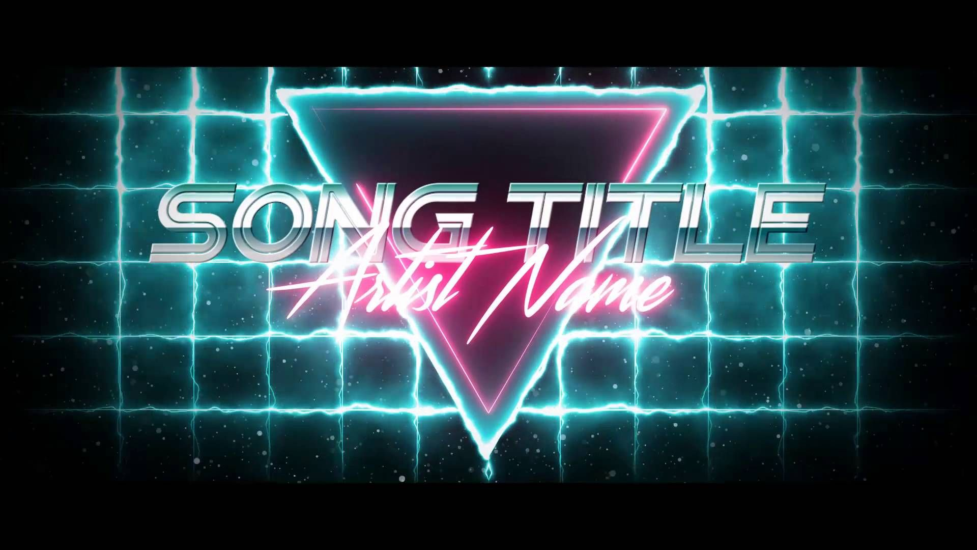 The Grid 80 S Visualizer Free After Effects Cs6 Template Dance