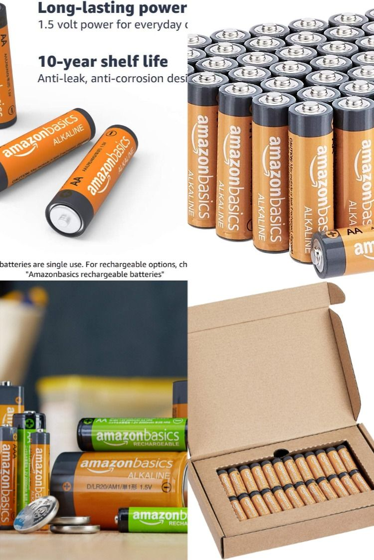 About This Item Aa 1 5 Volt Performance Alkaline Batteries For Reliable Performance Across A Wide Range Of Devices 10 Year Alkaline Battery 10 Things Batteries