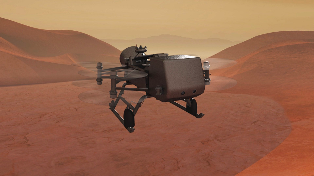 Dragonfly Aims For Saturn S Moon Titan Human World Earthsky Photos From Space Almost Space Saturns Moons Planetary Science Space Probe