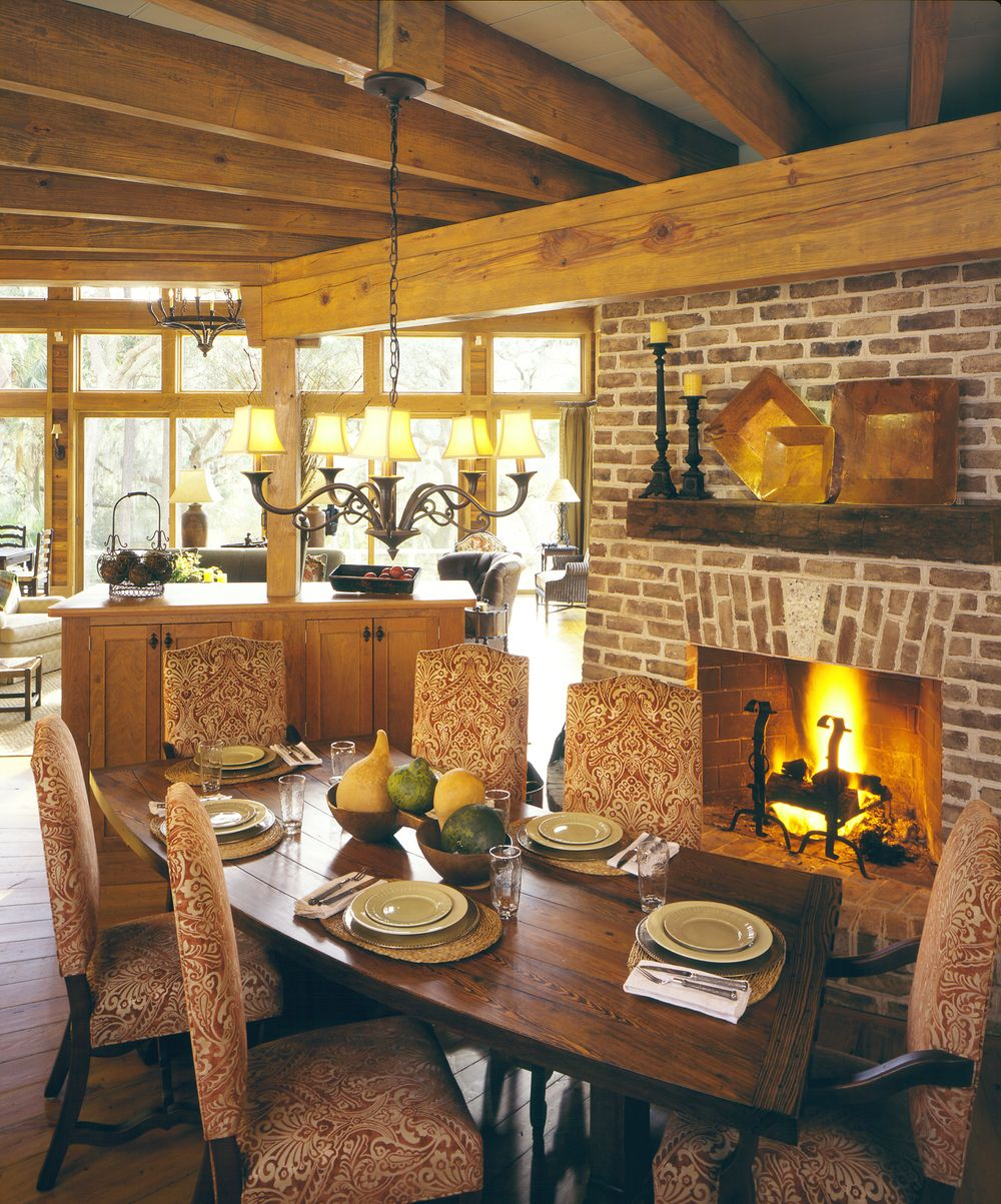 Wade Residence | Traditional dining rooms, Dining room ...