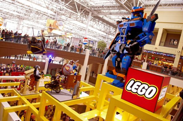 mall of the americas photos | Lego Store at Mall of American ...