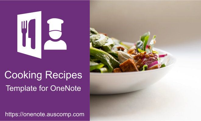 Did you know you can use MS OneNote to collect and organize your favourite cooking recipes P Did you know you can use MS OneNote to collect and organize your favourite co...