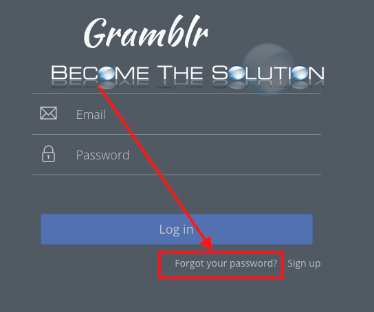 Gramblr: Change/Reset Password | Instagram | Reset password