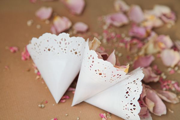 We Show You How To Make Confetti Cones Out Of Paper Doilies For Your Guests On Wedding Day Part The DIY Sessions At CuriousMe