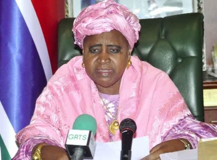 Yahya Jammeh: Gambias Vice President Isatou Njie Saidy resigns