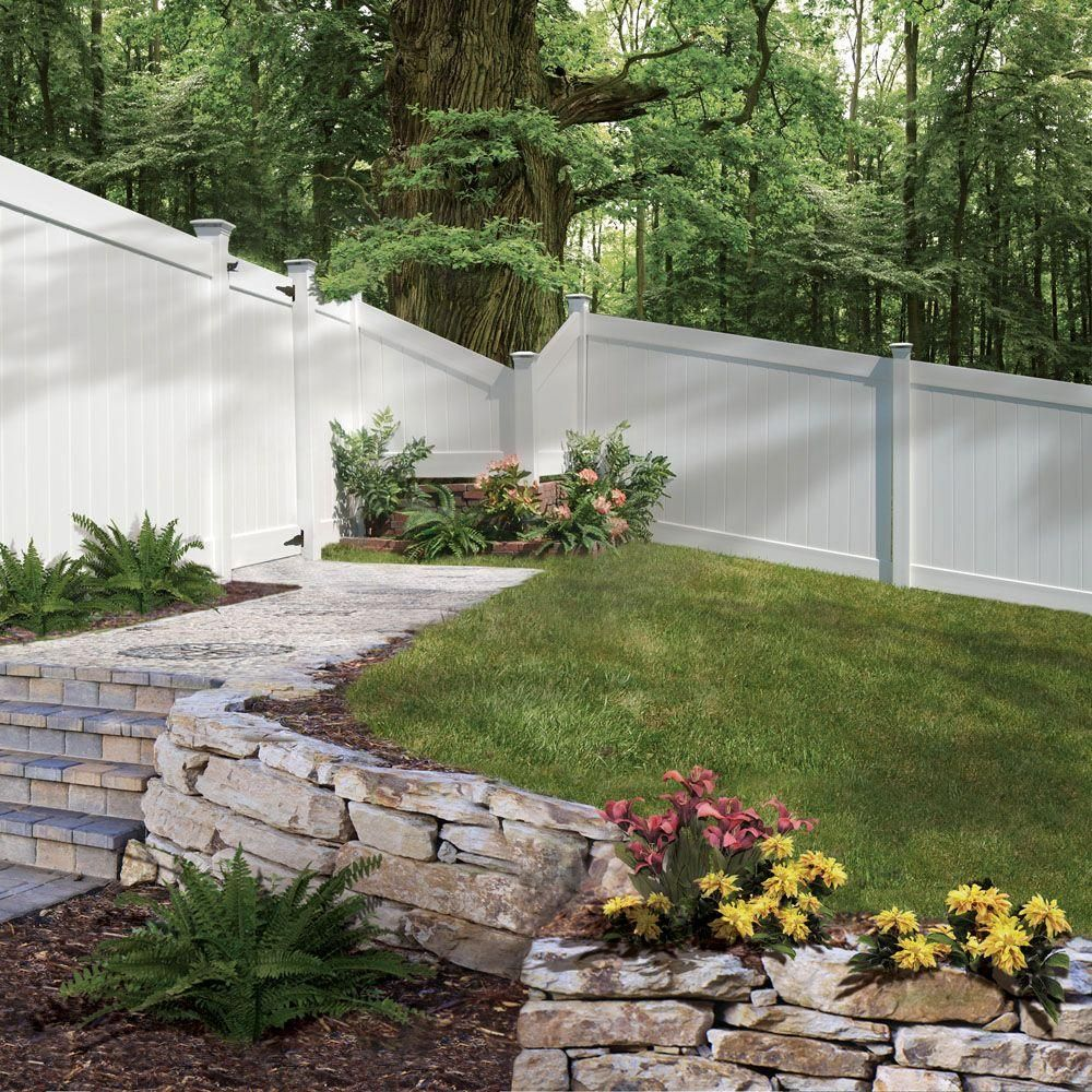 vinyl fence ideas. 75 Fence Designs, Styles, Patterns, Tops, Materials And Ideas Vinyl