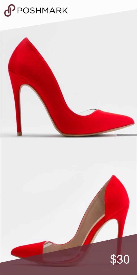 60555ae64e3 Red high heel pumps Beautiful and classy red pumps. Perfect for the ...