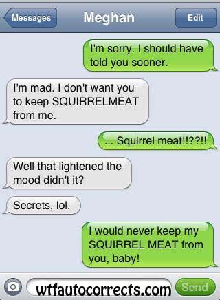 Squirrelmeat...