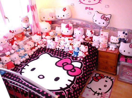 1000 images about hello kitty on pinterest pink black sanrio hello kitty and umbrellas - Decoration Hello Kitty Chambre