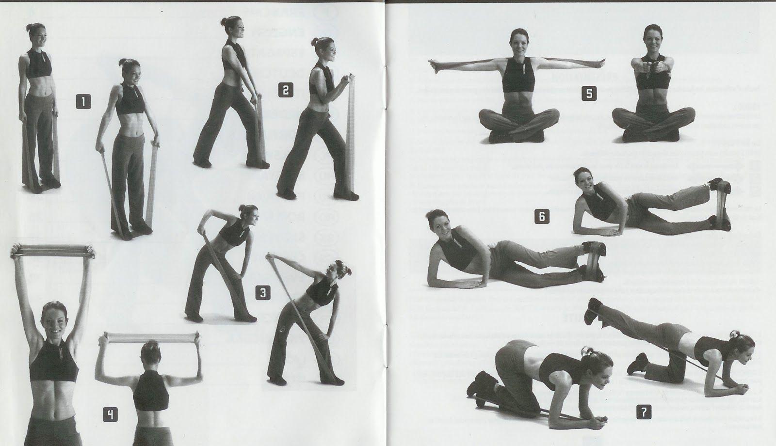 Incorporar una banda elástica en una tabla de ejercicios de Pilates crea  una nueva dimensión que te permite mejorar la fuerza y potenci. 7fa102766803