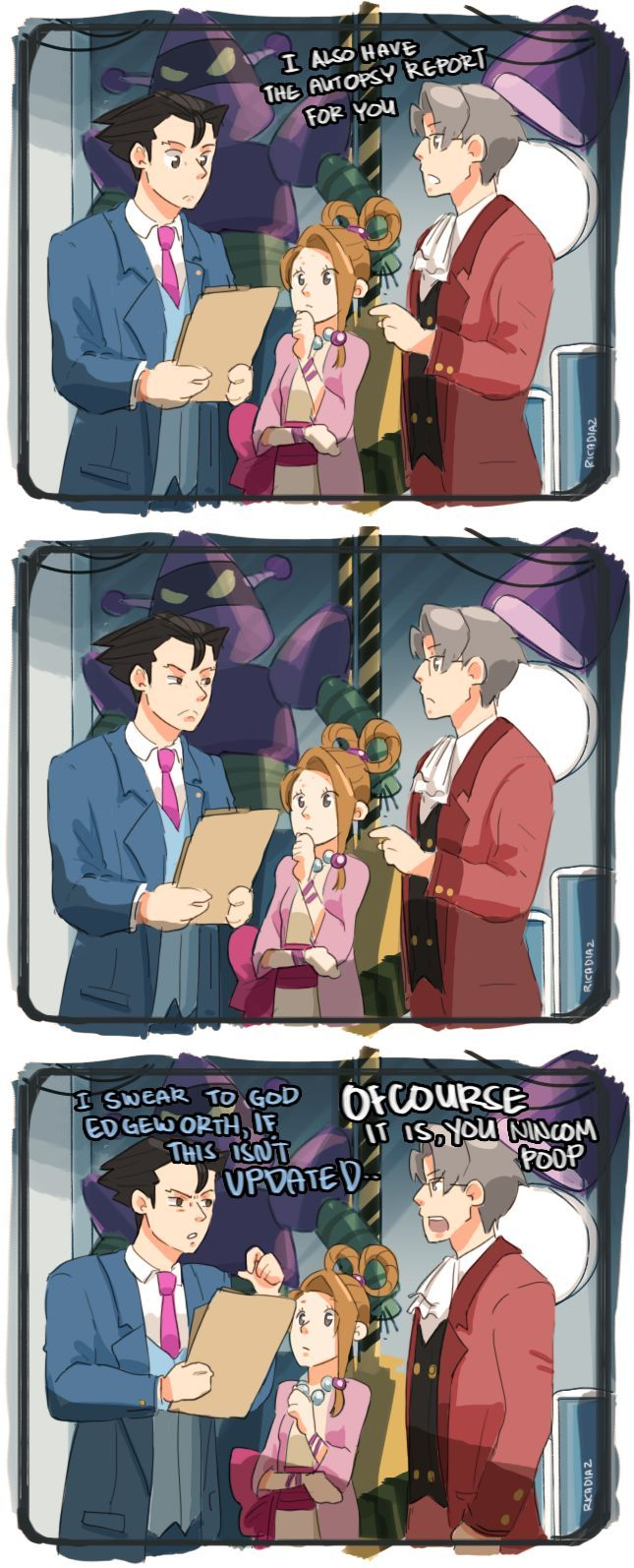 Pin By Jolon Kerr On Ace Attorney I M A Lawyer Now Lawyer Pandora Wishing protonjon & lucahjin congratulations on their wedding today! pinterest