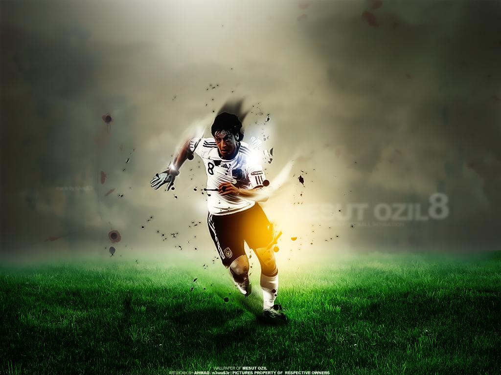 Mesut Ozil By N3wus3rr.deviantart.com On @deviantART (มี