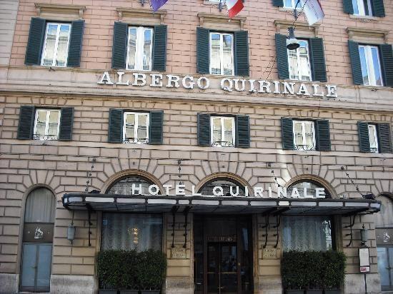 Hotel Quirinale Roma Suave Es La Noche Tender Is The Night A
