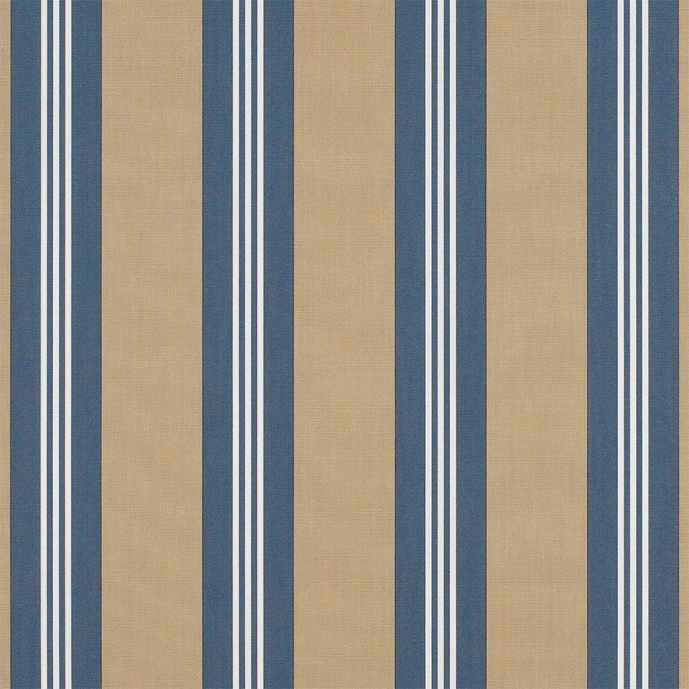 Sunbrella Sapphire Vintage Bar Stripe 4948-0000 46-Inch