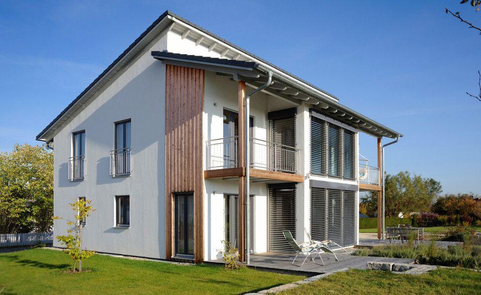 Einfamilienhaus Mit Pultdach haas fertighaus top line 230 modernes einfamilienhaus pultdach