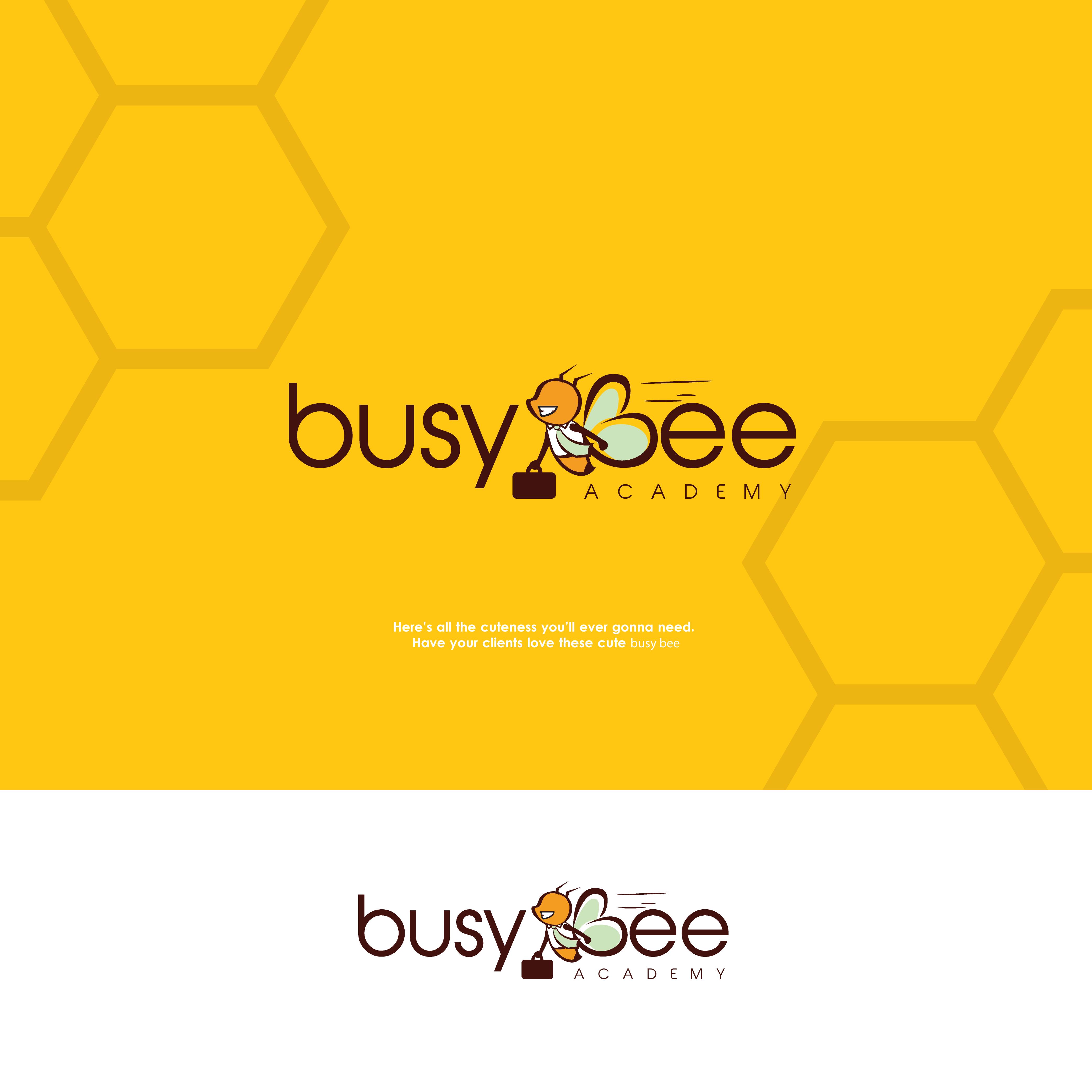 478a81ce5c0dc Bee Logo, Academy Logo, Logo Design, Premade Logo, Business Logo ...