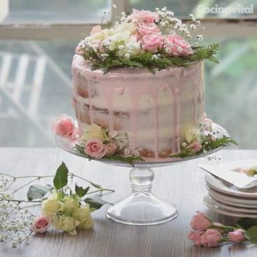 Es el pastel del momento: natural, sencillo y con un toque vintage que deslumbrará en cualquier evento.
