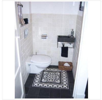 Portugese tegels wc gang wc pinterest toilet and house - Wc tegel ...