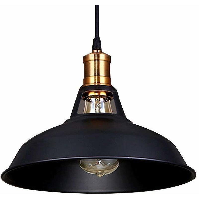 Lustre suspension industrielle vintage e27 lampe - Plafonnier salle a manger ...