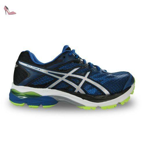 Asics - Flux 4 gel blue run - Chaussures running - Bleu moyen - Taille 42.5