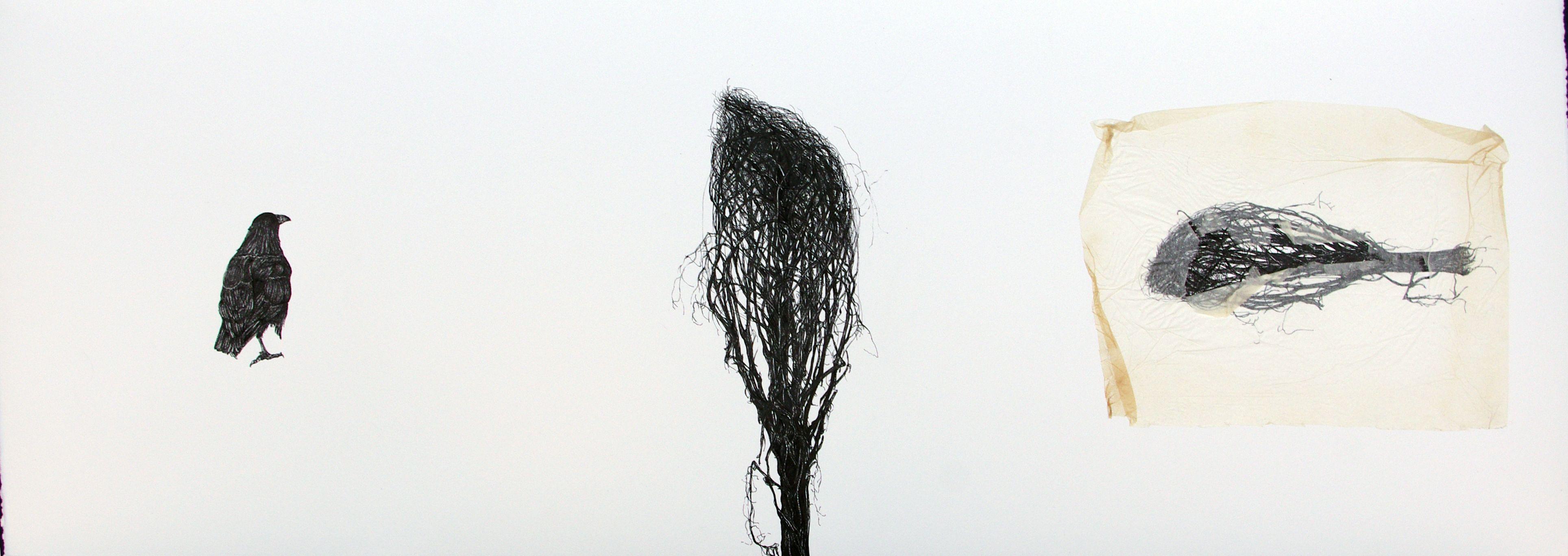 #Inés #González TÍTULO: El deseo • TÉCNICA: Tinta china sobre papel • TAMAÑO PAPEL/PLANCHA (cms):108x38/108x38 • EDICIÓN: Pieza única • http://www.a-cuadros.com/artistas/artista/208
