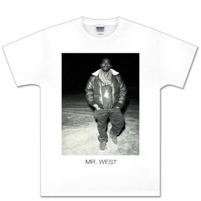 Kanye West White Black And White Photo Tee Kanye West Shirt Kanye West Kanye West Photo