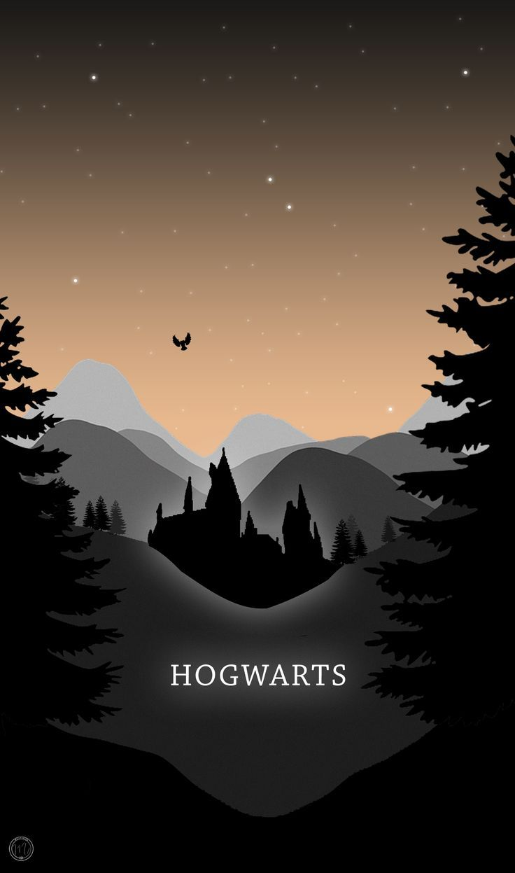 Hogwarts Phone Wallpaper Harry Potter Inspired Illustration Mailysev Harry Potter Wallpaper Phone Harry Potter Wallpaper Backgrounds Harry Potter Wallpaper