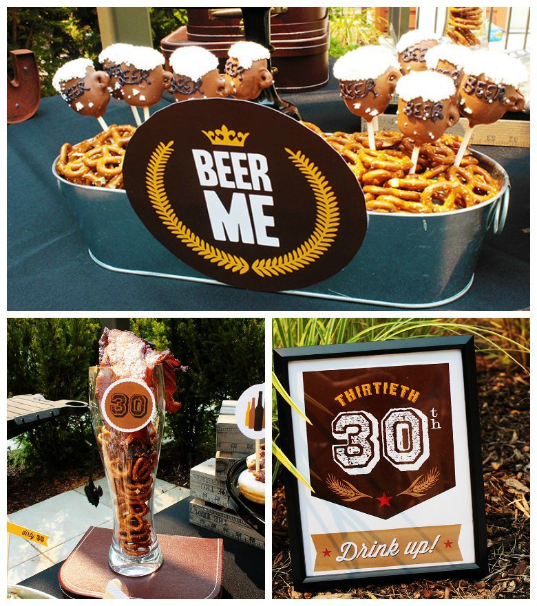 Dirty Thirty 30th Birthday Beer Bash
