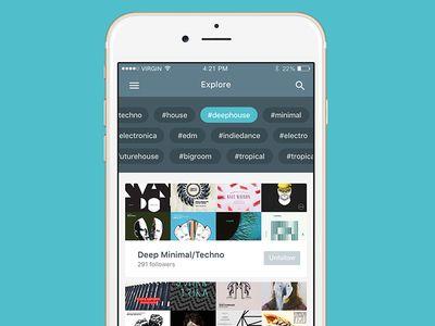 Tag filter   interface   Mobile design, Filter design, Filters