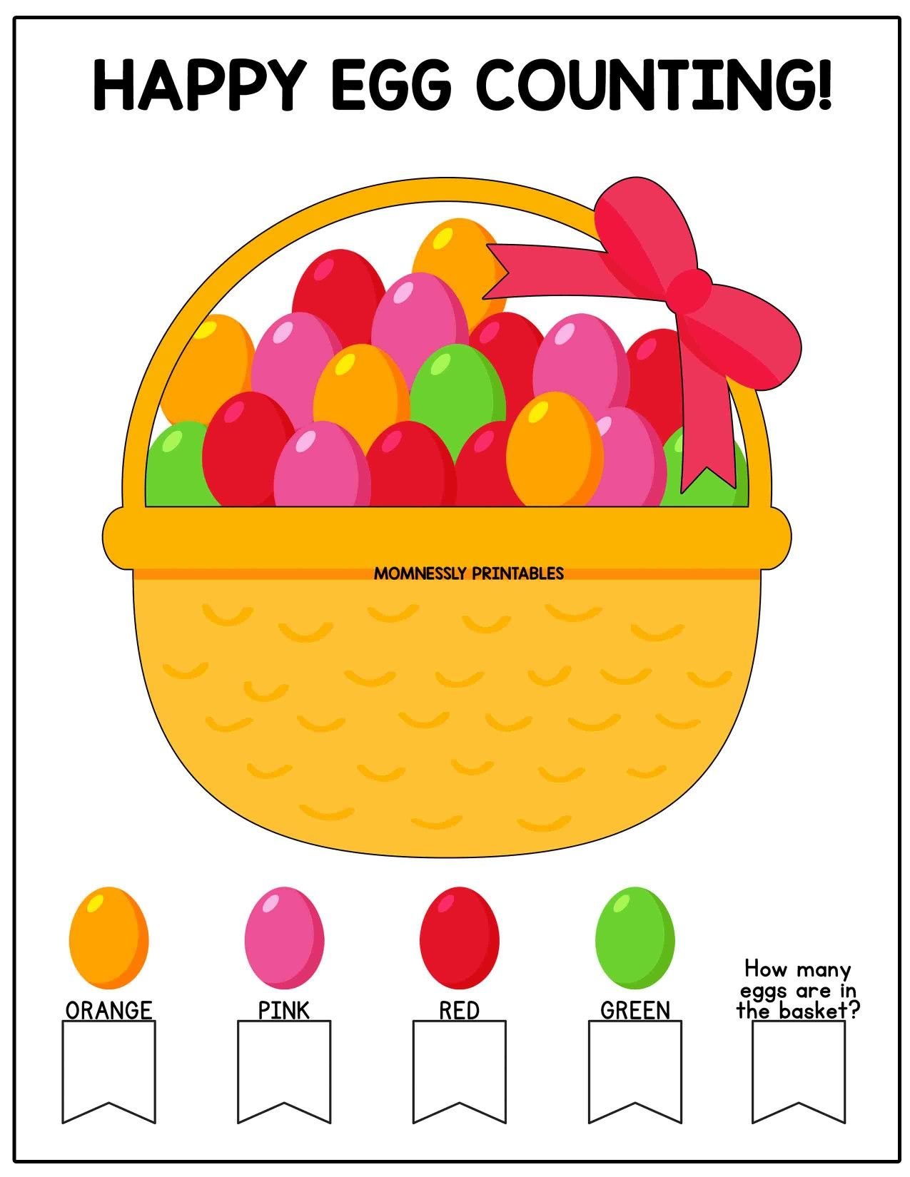 Easter Activity Printables In