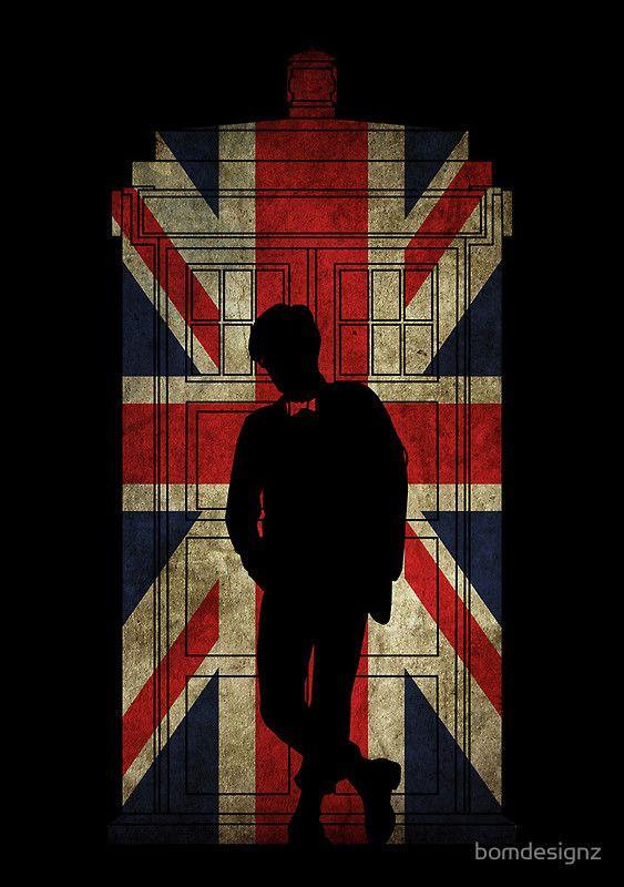 """Tardis Dr Who 11th Matt Smith"" (by bomdesignz)"