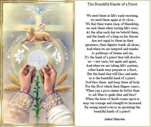 Beautiful Hands Of A Priest Roman Catholic Catholic Priest