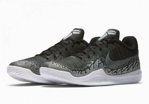 7ae02ef1954d Nike Mamba Rage Mens Basketball Shoes 8.5 Anthracite White Black Kobe  Nike   BasketballShoes