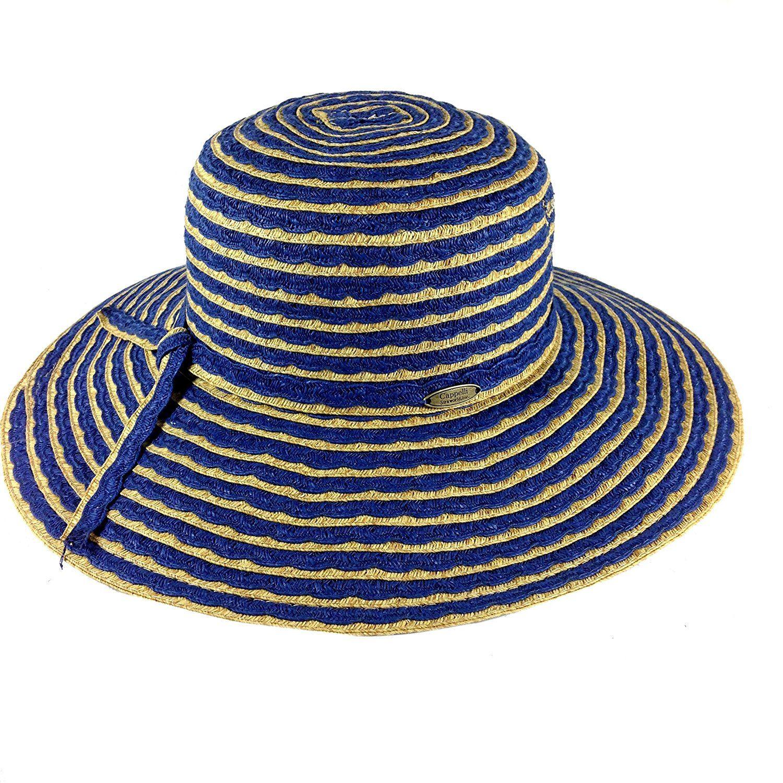 048e21f5f Cappelli Straworld Wide Brim Straw Sun Hat with UPF 50 Sun ...