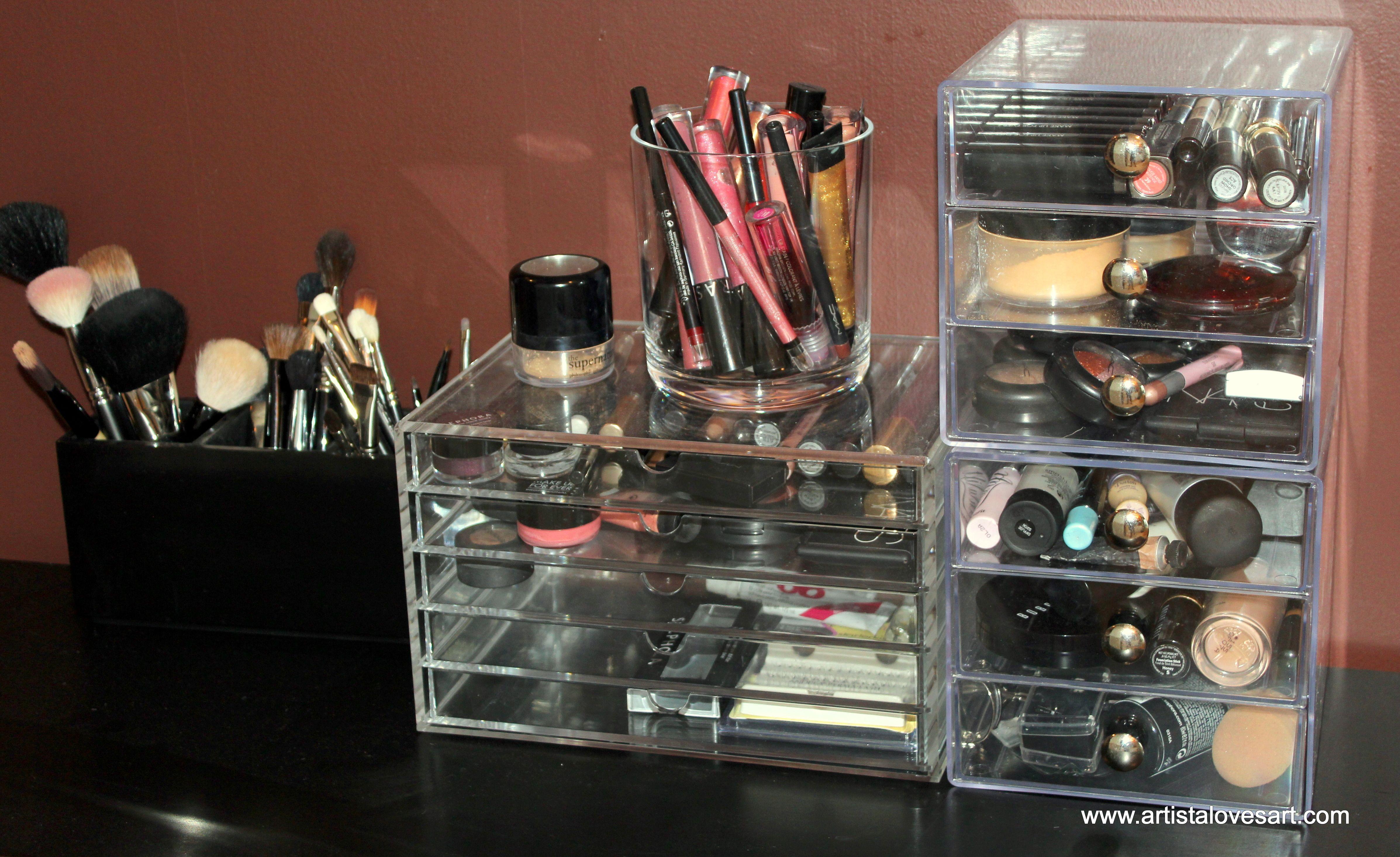 My Version Of The Famous Kardashian Acrylic Makeup Drawers